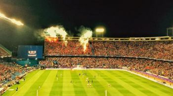 Scene socante aseara in Champions League! Ce au facut fanii Benficai in meciul cu Atletico Madrid