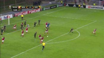 Ratare INCREDIBILA in Europa League! Era minutul 97, iar poarta era goala! Ce s-a intamplat. VIDEO