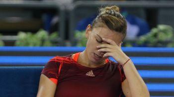 ULTIMA ORA! Simona Halep a abandonat din primul meci de la Beijing, la scorul de 4-5 cu Lara Arruabarrena! Halep a avut nevoie de medic ca sa poata juca