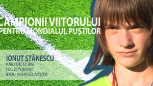 Constelatia celor 12 | Supertare! Il recunosti? Fiul unuia dintre cei mari portari romani va apara Romania la Cupa Natiunilor Danone