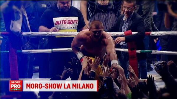 'Va iubeeeesc!' Momente URIASE pentru Morosanu la Milano! Ce s-a intamplat dupa victoria cu URIASUL Czewinski