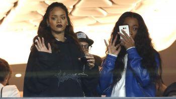 A prins-o in capcana   Cine e norocosul care a cucerit-o pe Rihanna. Cantareata a fost la ultimul meci al lui PSG pentru a-l vedea