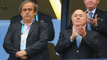 Cutremur in fotbalul mondial: dupa Blatter, si Platini va fi suspendat pentru minimum 3 luni de FIFA. Cine ii va inlocui pe cei doi