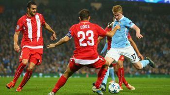 De Bruyne a lovit in prelungiri, City 2-1 Sevilla! TSKA 1-1 United, Atletico 4-0 Astana, Galata 2-1 Benfica! Sarbatoare trista pentru Mircea Lucescu in Suedia