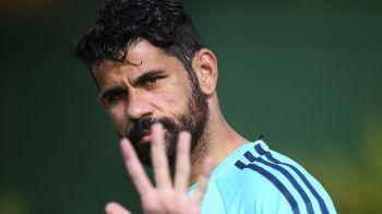 """""""Plangaciosii nu ma vor convinge sa-mi schimb stilul!"""" Aroganta lui Diego Costa dupa un start dezastruos al lui Chelsea in Anglia"""