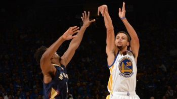 Curry, seara fabuloasa in startul NBA: nimeni n-a mai reusit asta de 43 de ani! Ce a facut LeBron in fata lui Obama