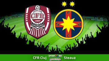 RADOI LA ZERO! CFR obtine prima victorie cu Steaua in 10 ani si o lasa la 6 puncte de liderul Astra: CFR 2-0 STEAUA. Vezi fazele meciului