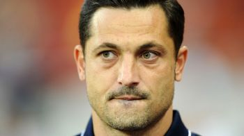 Gestul nervos facut pe banca de Mirel Radoi in timpul meciului cu CFR Cluj. Cum a fost surprins antrenorul Stelei