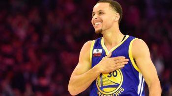 S-a scris ISTORIE in NBA! Nicio echipa nu a debutat atat de bine in 70 de ani. Stephen Curry, pe urmele lui Michael Jordan