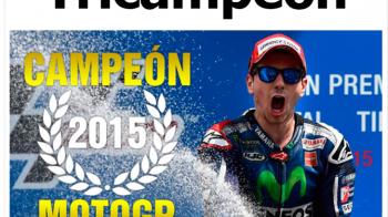 Tricampeon | Jorge Lorenzo e noul campion mondial la MotoGP, dar Valentino Rossi este eroul zilei. Cursa fantastica la Valencia
