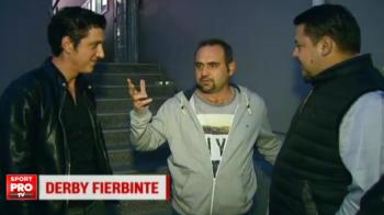"""""""Vaaai..."""" Toti au inceput sa rada cand Celentano din Las Fierbinti a raspuns la intrebarea: """"Ce pronostic dai pentru Dinamo - Steaua?"""""""