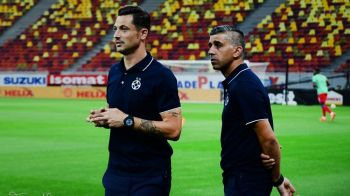 """""""Pretul"""" platit de Steaua pentru a juca la Pitesti. Radoi a acceptat sa imprumute mai multi fotbalisti: """"Ne vor da 4-5 jucatori de mare perspectiva"""""""