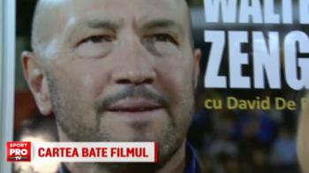 Walter Zenga, viata bate filmul. Italianul si-a lansat cartea autobiografica la Bucuresti, la concurenta cu sotia Raluca: VIDEO