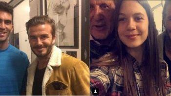 Beckham, fascinat de romani! Si-a facut poze cu Ilie Nastase si cu Tecau la Turneul Campionilor! FOTO