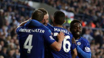 Apa bei, spirt joci! Echipa lui Drinkwater si a magicianului Vardy, lider in Premier League: tot lotul lui Leicester valoreaza cat transferul lui Martial la Man United