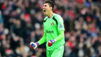 Pantilimon, eroul lui Sunderland! Romanul este in echipa etapei din Premier League alaturi de Coutinho si Kane