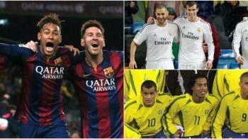 """Este tripleta MSN cea mai tare din istorie? Messi, Suarez si Neymar au marcat 120 de goluri impreuna in 2015 si sunt vazuti ca fiind mai buni ca """"RRR"""""""