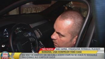 """Capra ignora decizia de evacuare a primariei pentru meciul de maine: """"Cu CFR jucam pe Ilie Oana, o sa vedeti!"""""""
