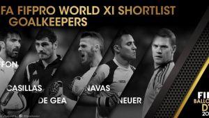 55 de jucatori au fost alesi de FIFA in cursa pentru cea mai buna echipa a anului! Vezi lista completa