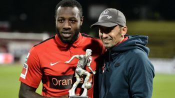 """""""Sa marchez e lucrul la care ma pricep cel mai bine"""". Dinamo are al treilea golgheter al Ligii I, Gnohere spera sa dea lovitura pana la finalul sezonului"""