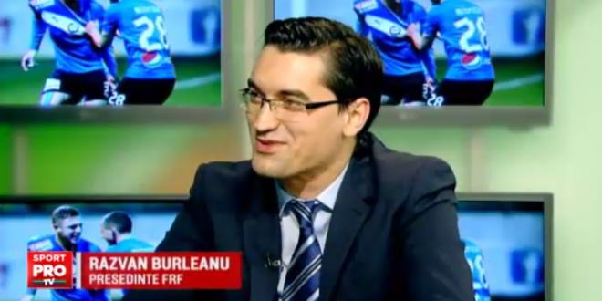Promisiunea lui Razvan Burleanu inainte de EURO:  Daca jucam finala, ma fac blond  :) Ce grupa vrea presedintele FRF pentru Romania