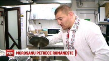 VIDEO GENIAL: Morosanu a gatit fasole cu ciolan pentru 1 decembrie! Ce a iesit :))