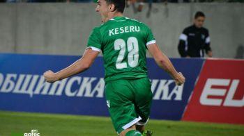 Ludogorets, doar egal cu fosta echipa a lui Reghe! Echipa lui Keseru, Moti si Prepelita ramane pe primul loc in Bulgaria