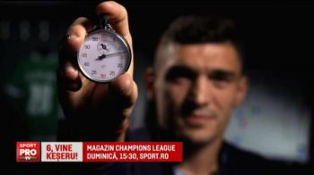 Keseru, vedeta in Magazinul Europa League! Ce a facut imediat dupa hattrick-ul de record cu Aalborg! VIDEO