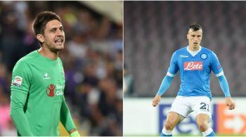 Tatarusanu si Fiorentina, la un punct de primul loc; Napoli, fara Chiriches, a cazut de pe 1 pe 3. Ce au facut echipele romanilor