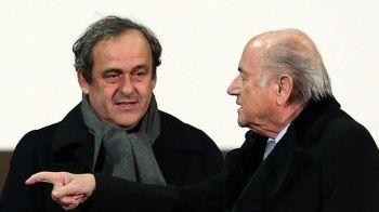 Blatter ataca la TAS, UEFA critica FIFA, Platini ataca in CIVIL: Reactii de ultima ora dupa ce Blatter si Platini au fost suspendati 8 ani din fotbal