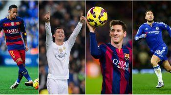 Messi si Neymar, cei mai scumpi fotbalisti ai planetei; Cristiano Ronaldo, doar pe locul 4. Cum arata clasamentul celor mai valorosi jucatori