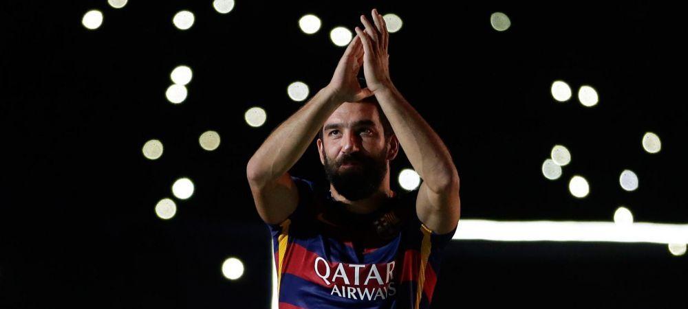 """In sfarsit! O sa joc!"" A crescut uitandu-se la Hagi, azi va debuta pentru Barcelona intr-un meci de foc contra lui Galca! Mesajul emotionant transmis de Arda"