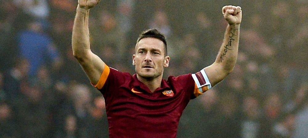 Cea mai trista zi pentru fanii Romei! Francesco Totti se retrage la finalul sezonului! Sotia sa a facut anuntul