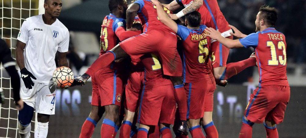 Steaua are cel mai bine cotat lot din Romania! Pustii lui Hagi vin tare din spate, peste Dinamo! Cum arata topul VALORII din Liga I!
