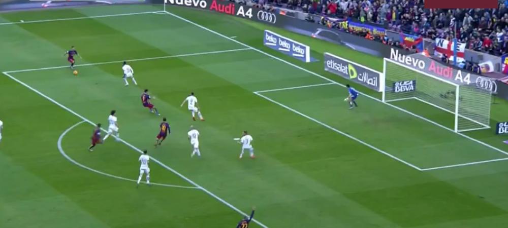 ARDA asa toata ziua :) Pasa GENIALA de gol a lui Arda Turan pentru Messi! VIDEO