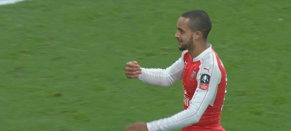 Gestul absolut GENIAL al lui Walcott dupa meci! Ce a facut in fata unui suporter nebun dupa Arsenal