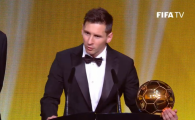 Leo Messi a castigat pentru a 5-a oara Balonul de Aur! Ronaldo, pe locul 2! VIDEO: Cel mai frumos gol al anului in 2015