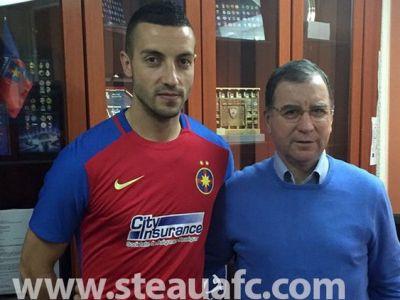 Prima imagine cu Momcilovici la Steaua! Ce numar va purta jucatorul adus sa-l faca uitat pe Guilherme! UPDATE: Ajunge miercuri in Turcia