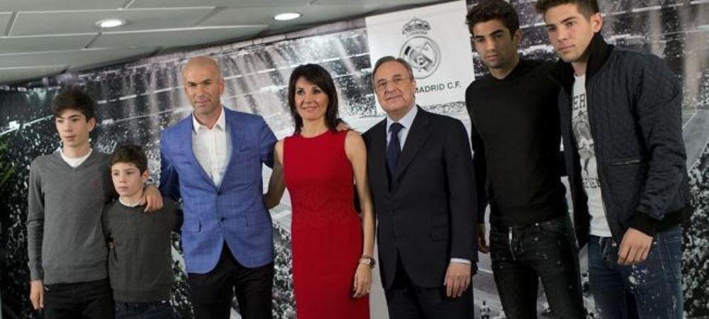 CE BOMBA! Cum au ajuns copiii lui Zidane s-o ingroape pe Real Madrid la FIFA! S-ar afla pe lista fotbalistilor transferati ilegal