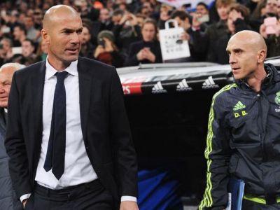 """Probleme """"romanesti"""" la Real Madrid: secundul lui Zidane nu are licenta Pro si nu mai are voie sa stea pe banca"""