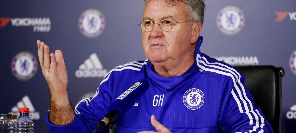 """""""Retrogradarea e o realitate"""" Declaratie incredibila a lui Hiddink, dupa ce a preluat echipa de la Mourinho"""
