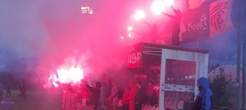 Amical cu probleme pentru Craiova in Antalya! Fanii echipei adverse au facut atmosfera incendiara! FOTO
