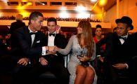 """""""Messi trebuia sa-mi dea bani pentru asta!"""" Gluma cu care Cristiano Ronaldo i-a surprins pe jurnalisti: ce a facut in timpul galei Balonului de Aur"""