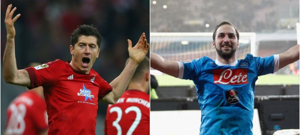 """Sa vina, ca tot eu o sa joc"". Bayern poate da lovitura cu cel mai tare atacant al momentului, dar Lewandowski nu se teme"
