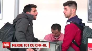 CFR-ul si-a pastrat golgheterul in pauza de iarna si a mai adus un spaniol langa el: un fotbalist crescut la Deportivo a ajuns in Gruia