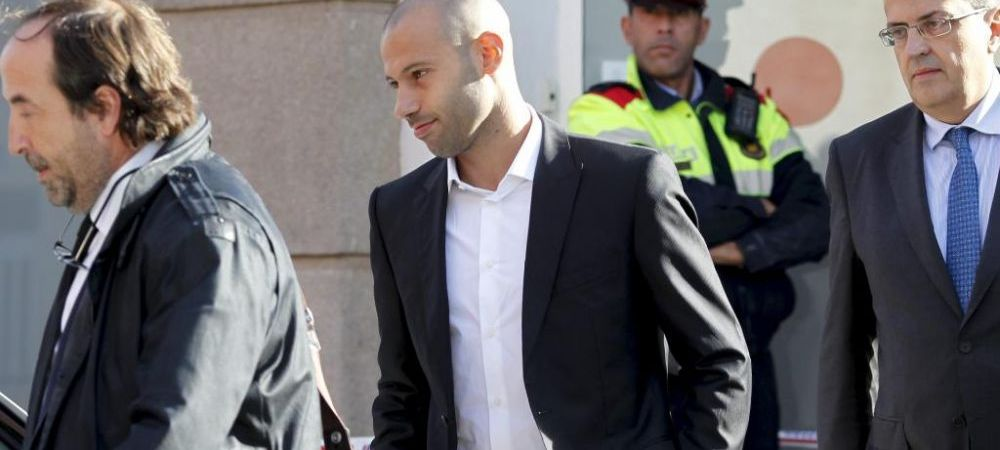 Un star de la Barcelona a fost CONDAMNAT la inchisoare! Cum vrea sa scape Mascherano de pedeapsa
