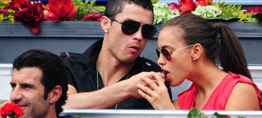"""Imagini incendiare cu """"Irina lui Ronaldo"""". Fosta iubita a starului de la Real, goala in bratele altui barbat: FOTO & VIDEO"""