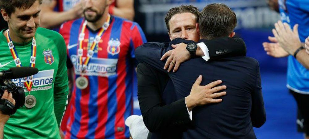Ultimele doua transferuri la care mai viseaza Reghe! Singurele posturi DESCOPERITE la Steaua