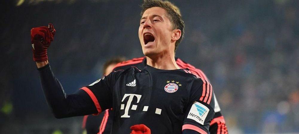 ASTA inseamna sa fii mafiot! :) Ce gol a dat Lewandowski pentru Bayern in prima etapa din 2016