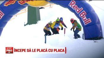 Hai ca incepe sa ne PLACA :) Cei mai buni snowboarderi s-au intrecut astazi intr-o competitie spectaculoasa la Platinis VIDEO
